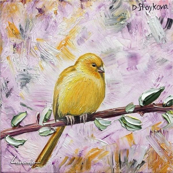 Картина Жълто канарче